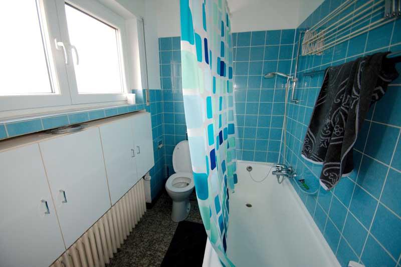 Gemeinschaftsraum Badezimmer 1. Etage
