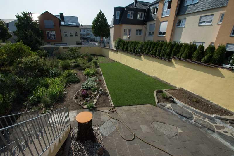 Gesamtansicht Garten