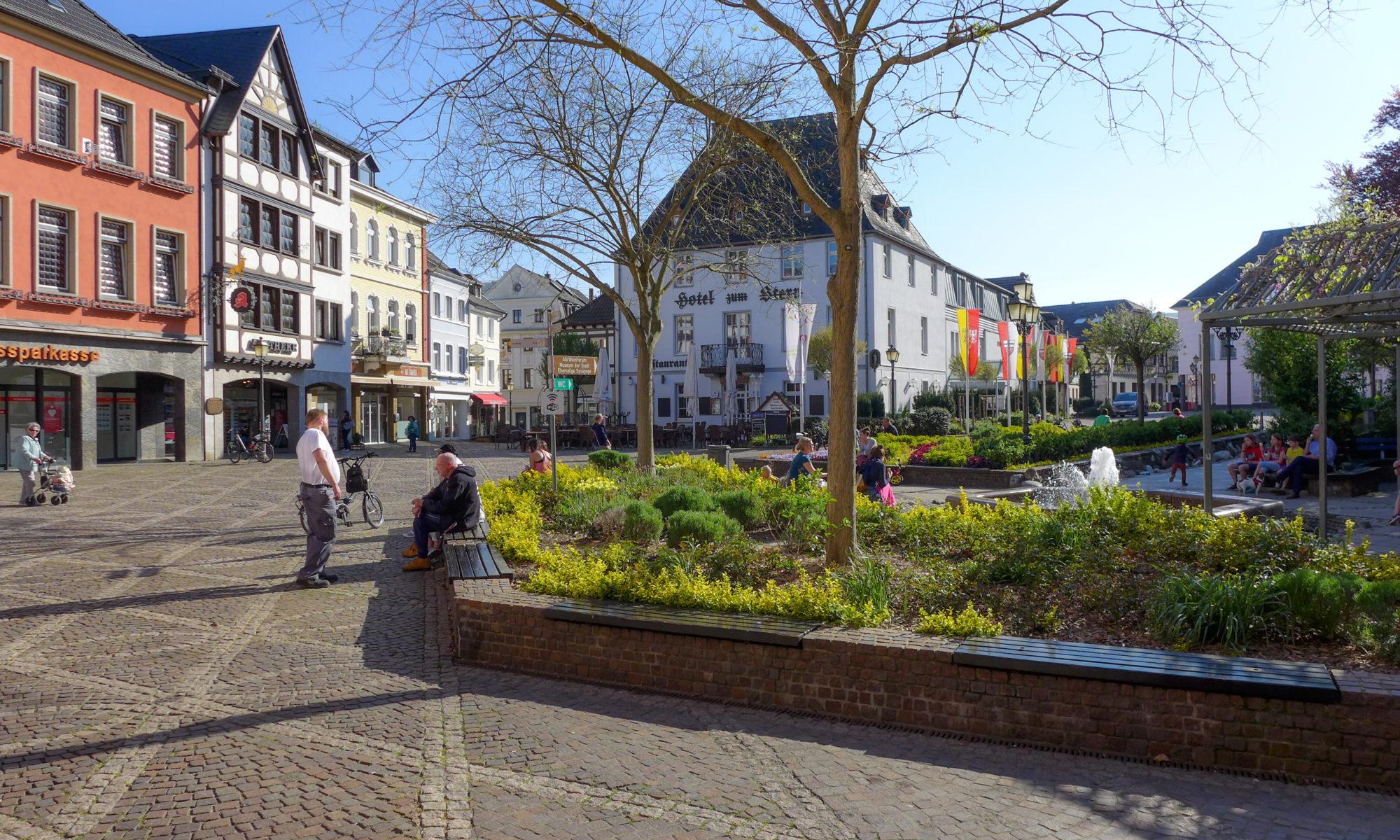 Marktplatz Ahrweiler Innenstadt