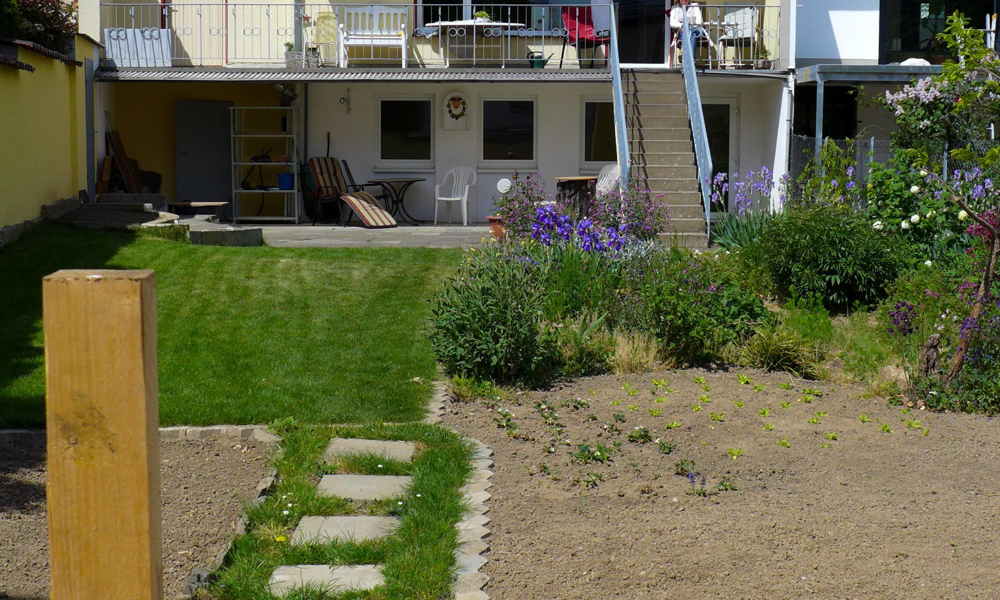 Garten der Wohngemeinschaft in Ahrweiler