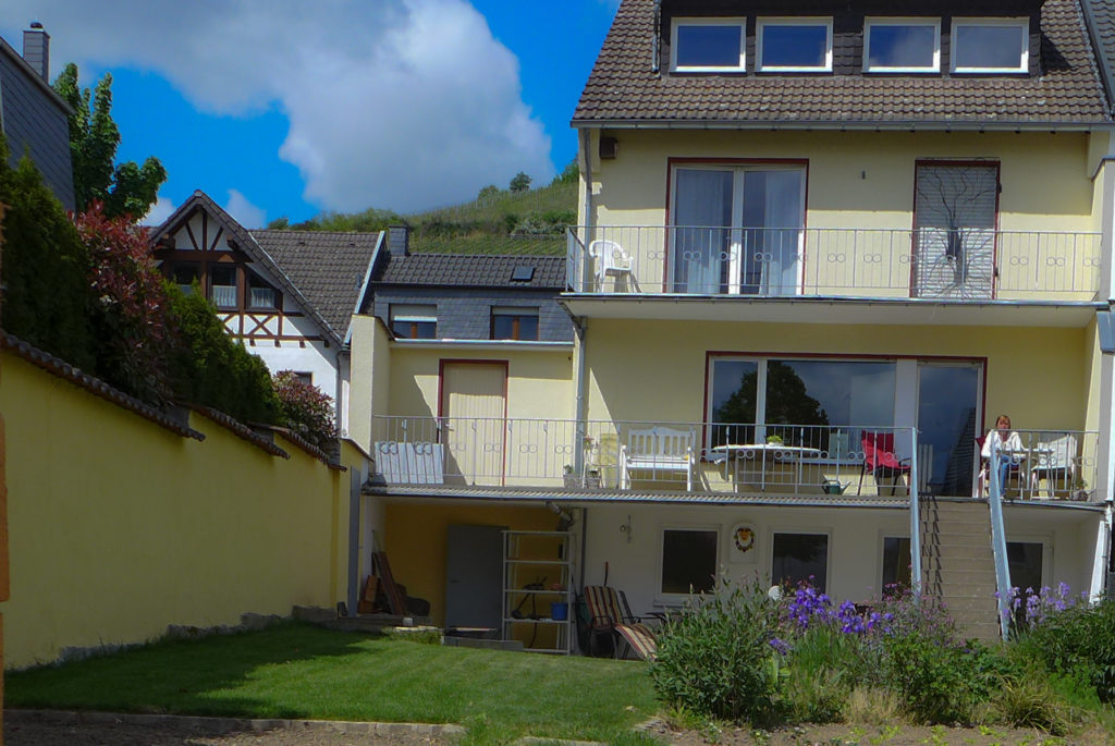 Gartenansicht Wohngemeinschaft Ahrweiler